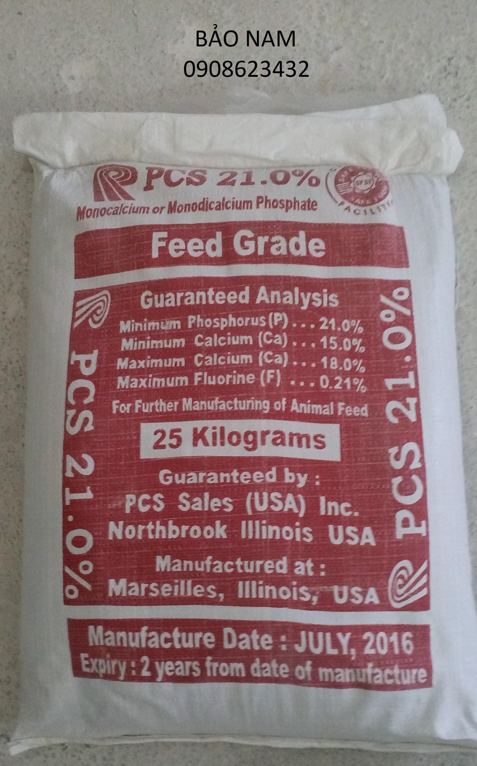 Monocalcium Phosphate  USA
